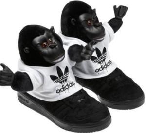 обезьянки adidas