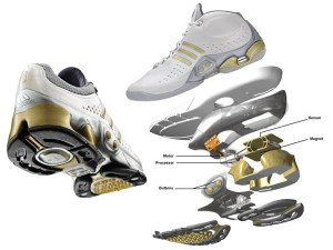 строение кроссовок adidas