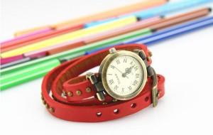 винтажные часы в стиле casual