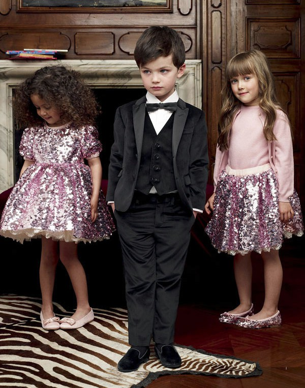 дети в модной одежде сезона 2015