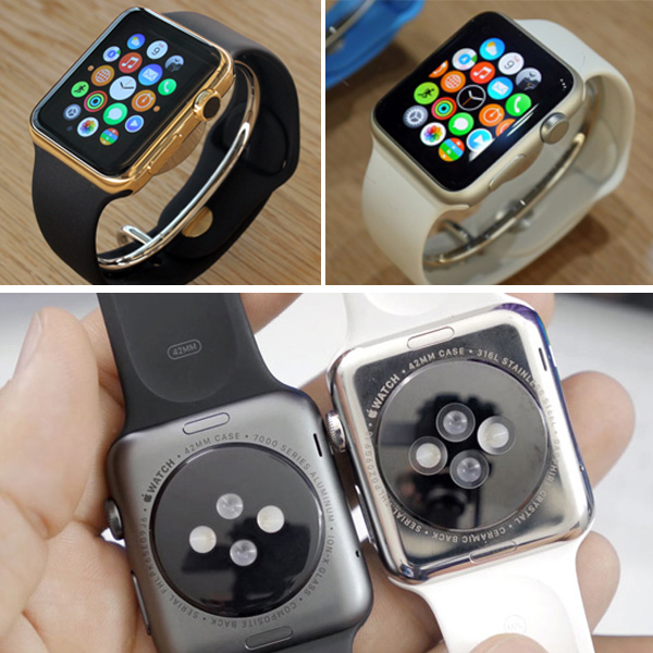 корпус часов apple watch