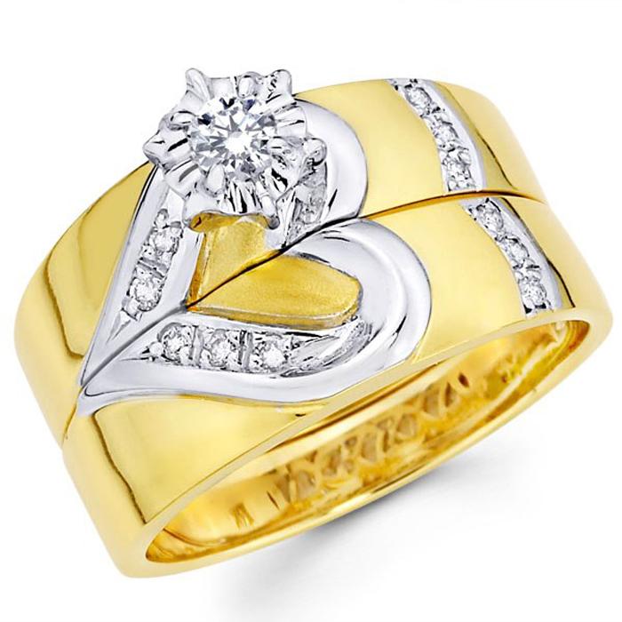 """обручальное кольцо """"два в одном"""""""