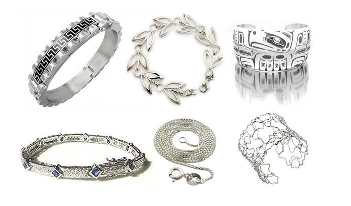 серебряные украшения ручной работы