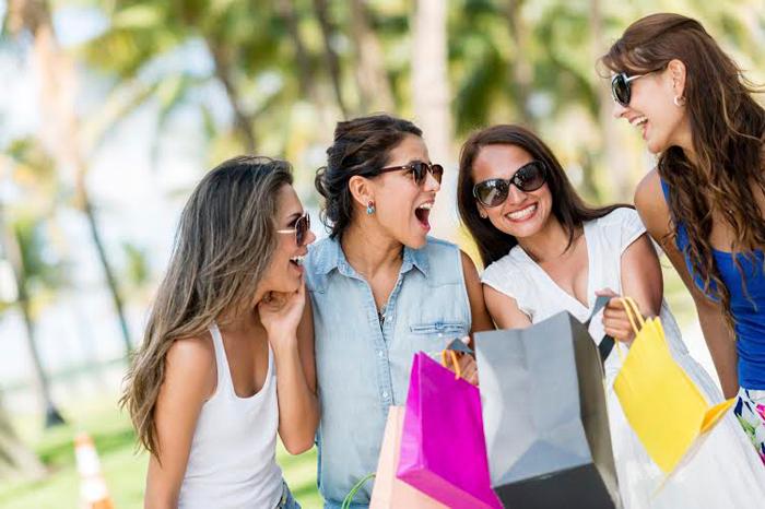 положительные эмоции от шоппинга