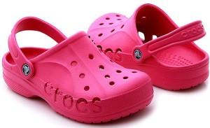 детские резиновые тапки crocs