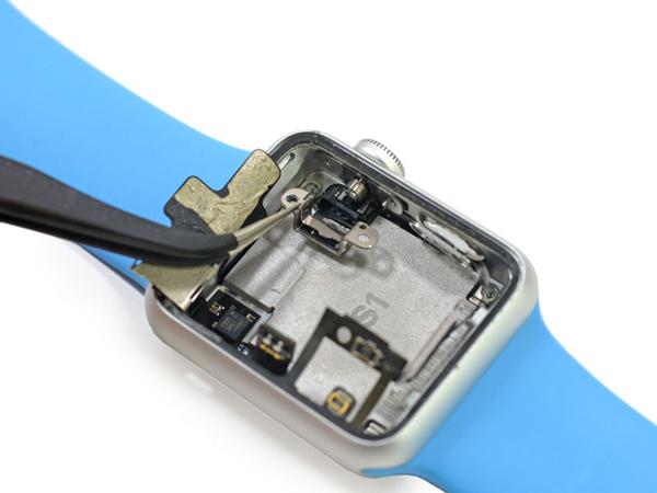 самостоятельная замена чипа часов apple watch