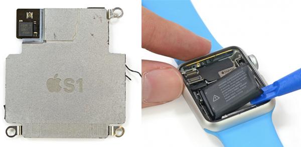 замена процессора часов apple watch