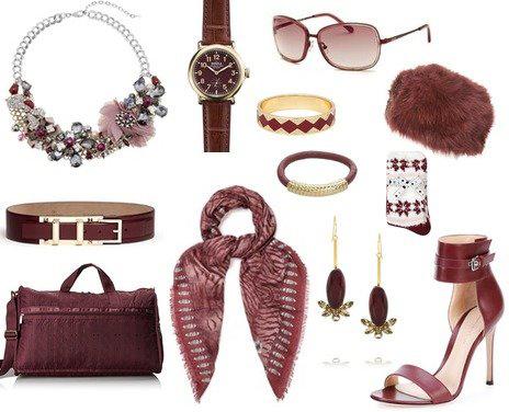 аксессуары для драматического стиля одежды