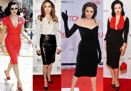 экстравагантно одетые актрисы