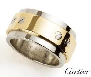 мужское обручальное кольцо cartier
