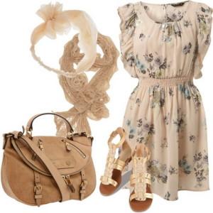 женский гардероб в романтическом стиле
