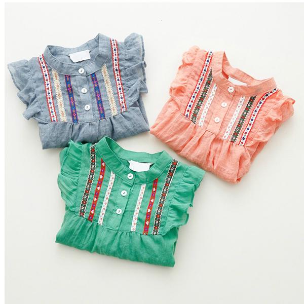 блузки для девочек 2015