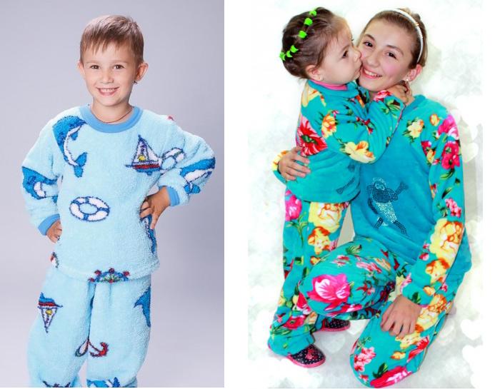 детская одежда для сна из микрофибры