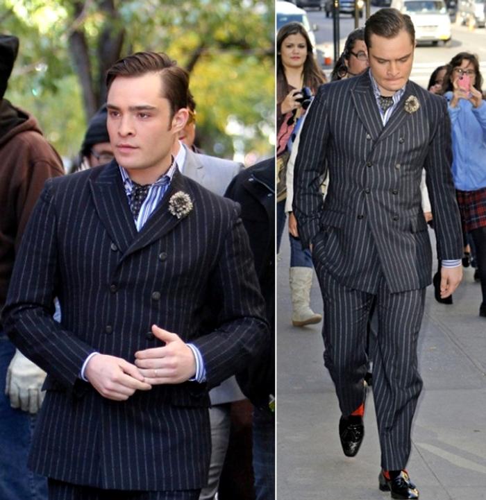 двубортный мужской пиджак