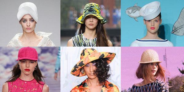 многообразие форм, фасонов и материалов женских шляп