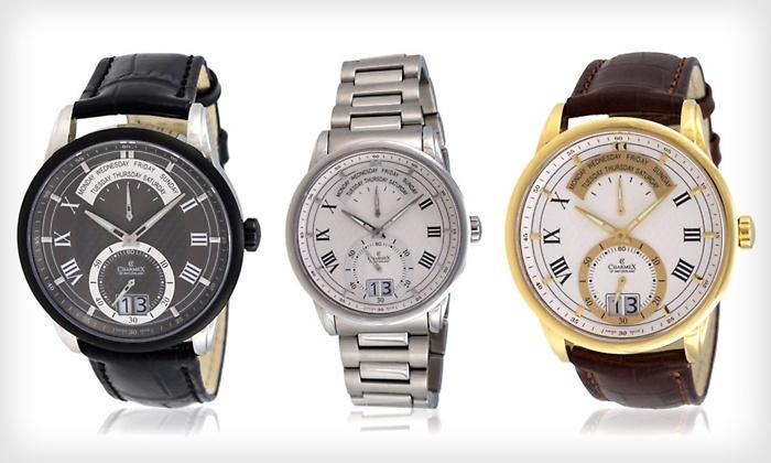 классические наручные часы charmex