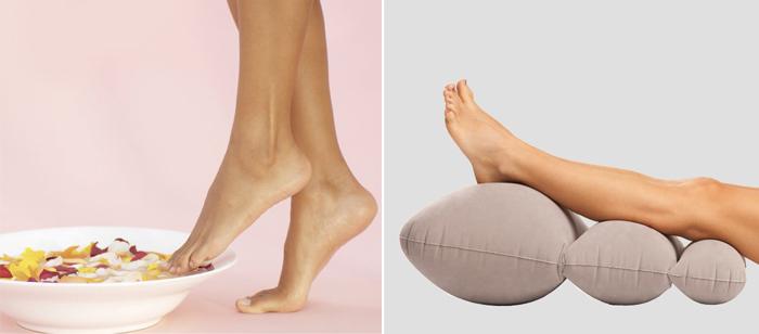 способы снять усталость с ног беременной женщины