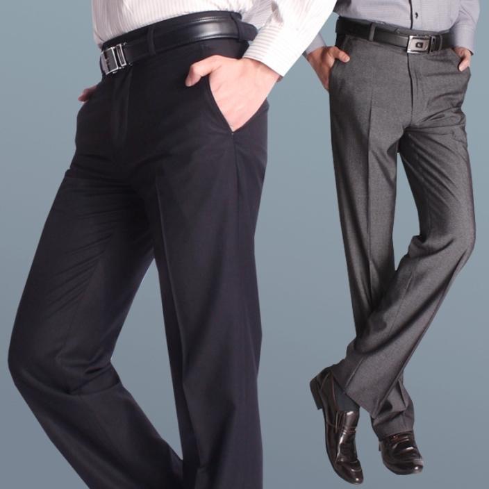 мужские брюки с завышенной талией