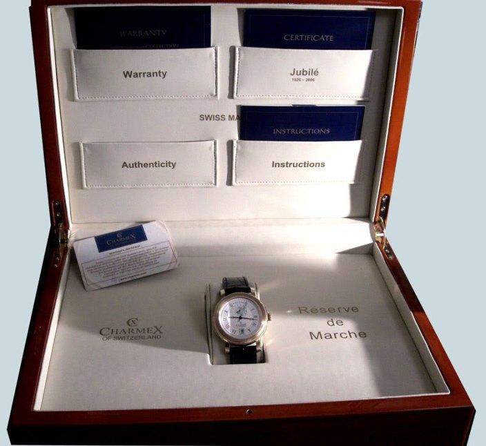настоящие швейцарские часы charmex в коробке, с документами