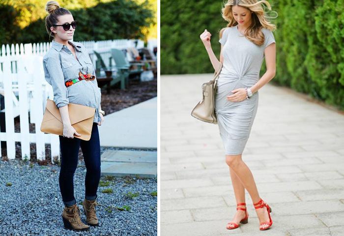 ношенная обувь и обувь на размер больше для беременных