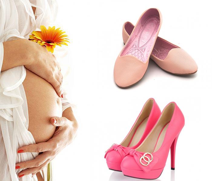 выбор обуви для беременной