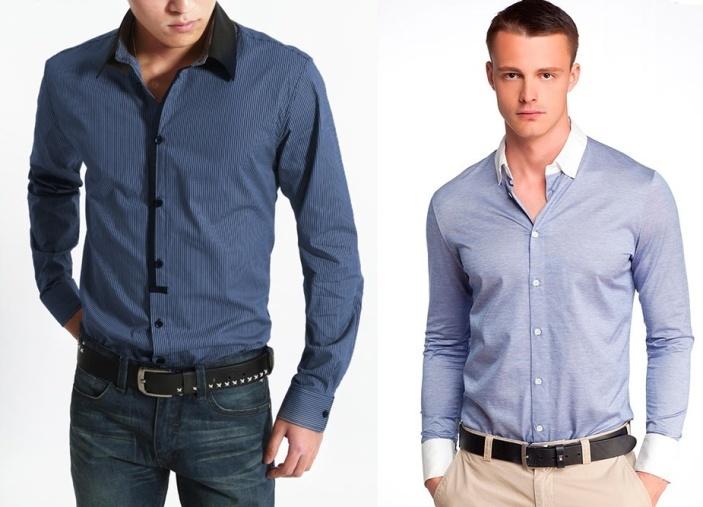 мужская одежда из смессовых тканей