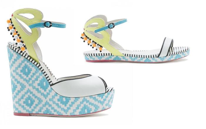модная пляжная обувь