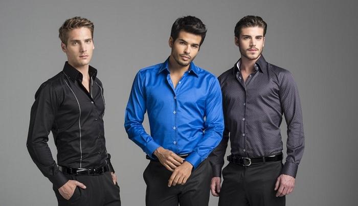 цветовые решения подбора мужской одежды