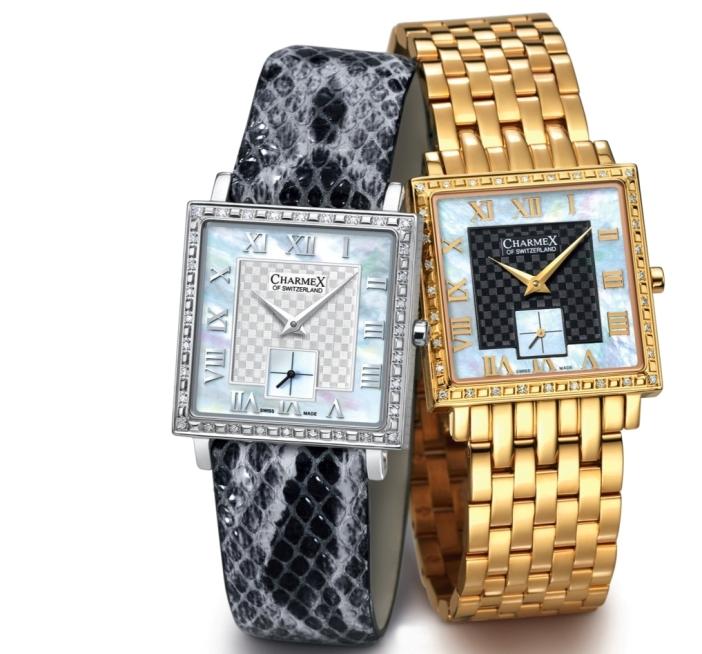 ремни швейцарских часов charmex