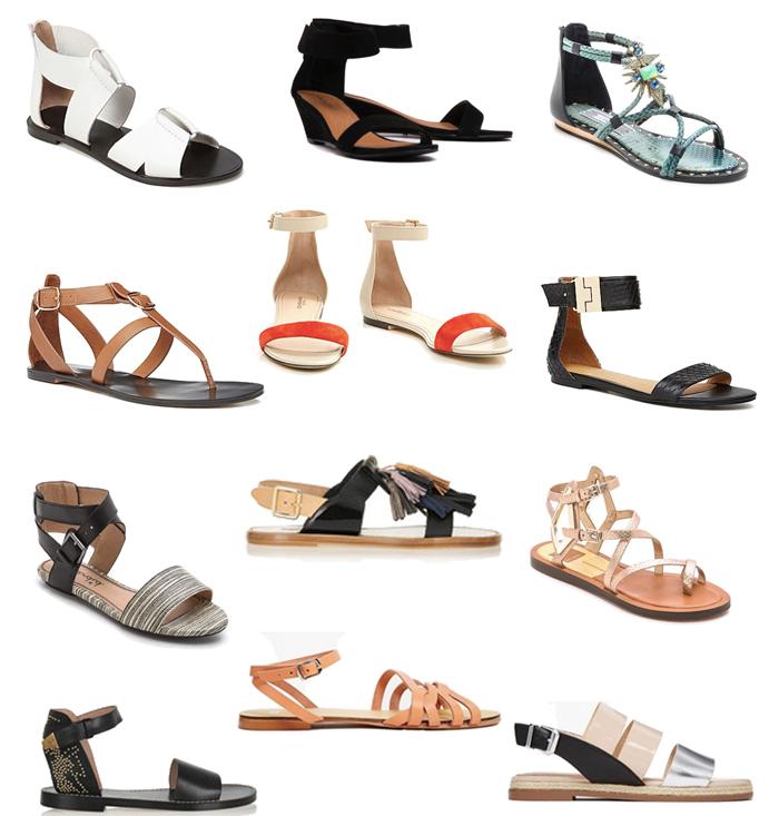 сандалии-обувь для пляжа