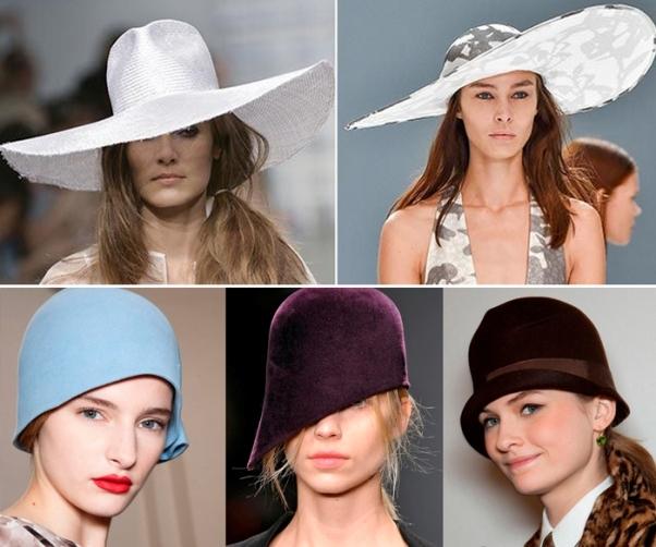 широкополые шляпы 20-х годов