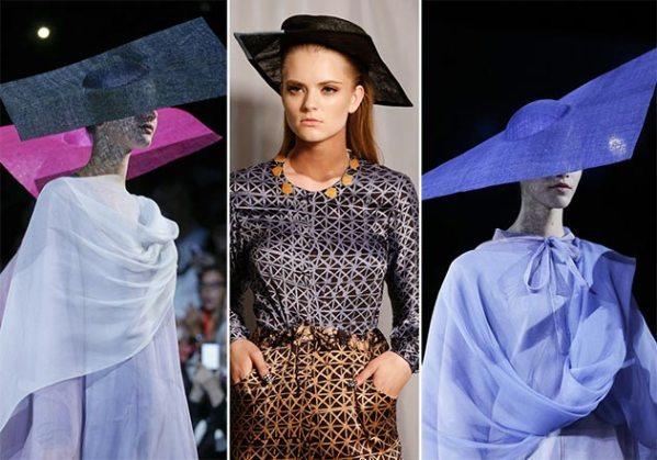 модные шляпы с квадратными полями