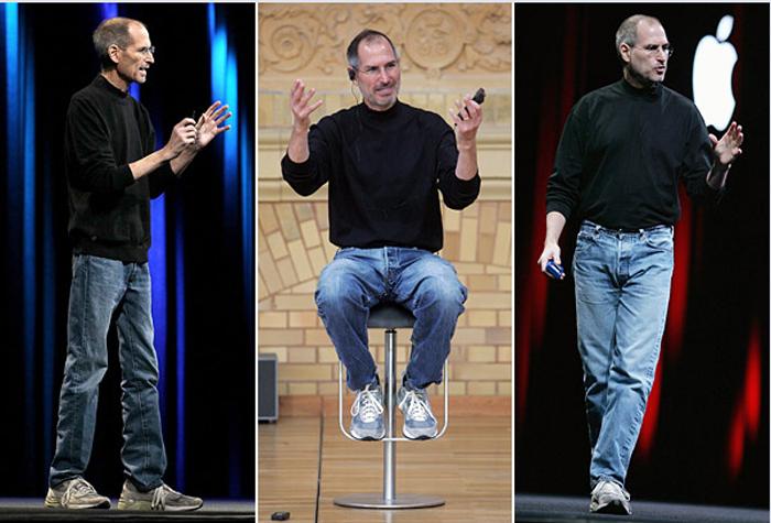 одежда Стива Джобса-пример стиля нормкор