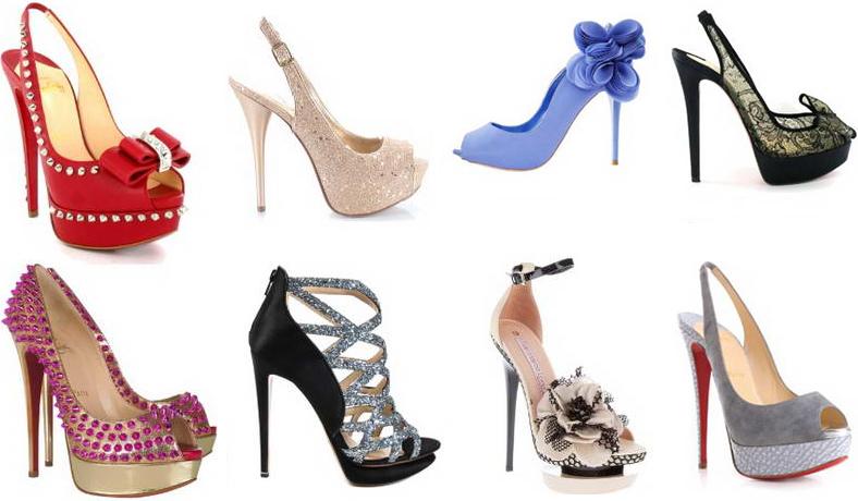 женские туфли для выпускного бала