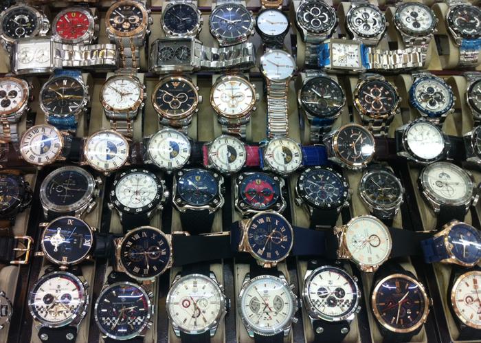 азиатские подделки швейцарских наручных часов