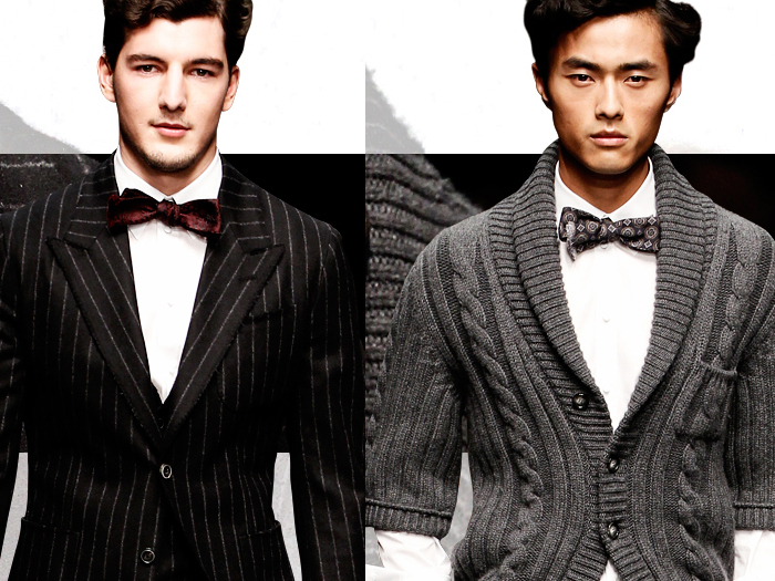 бабочка-мужской галстук