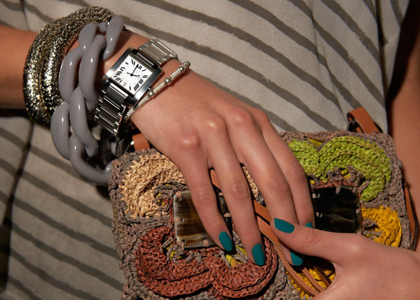 элегантные часы cartier