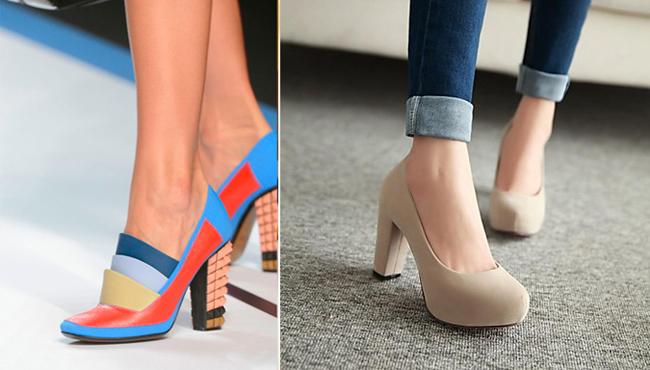 элегантные модели женских туфель 2015