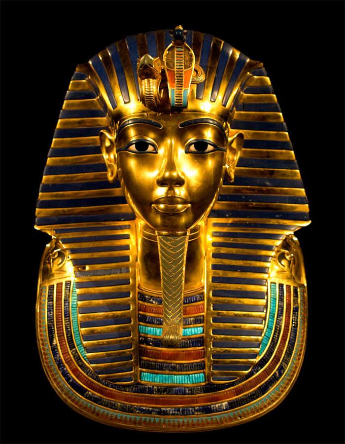 посмертная маска тутанхамона