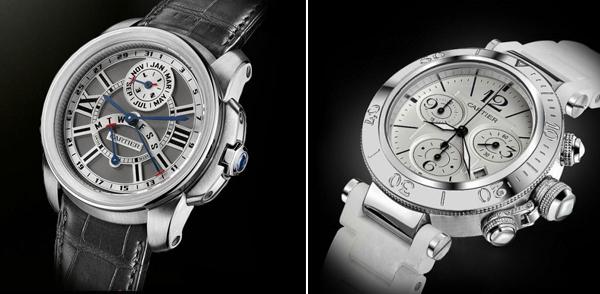механические и кварцевые швейцарские часы cartier