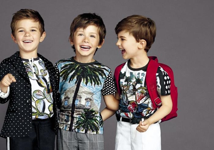 яркие и контрастные модные тренды для детей