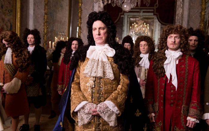 мужские галстуки времён Людовика XIV