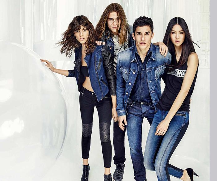 мужской стиль одежды бренда GAS