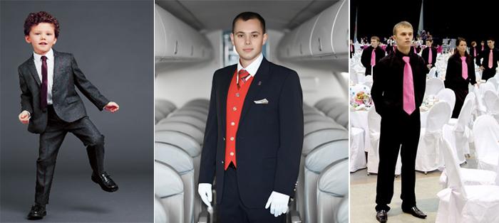 мужские галстуки-составляющая формы, униформы
