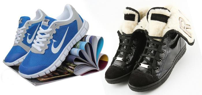 унисекс обувь для любого времени года