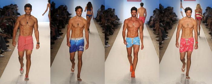 мужские плавки-шорты для проблемной фигуры