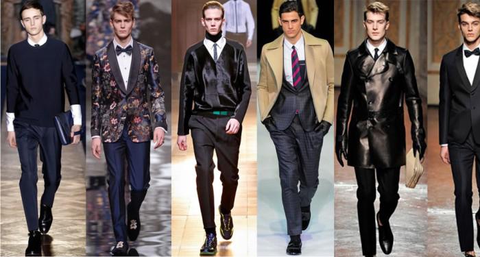 разновидности мужских галстуков