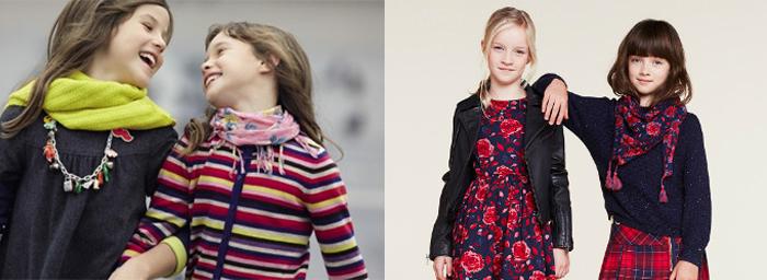 стильные шарфы для девочек