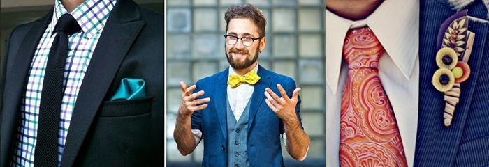 виды мужских галстуков