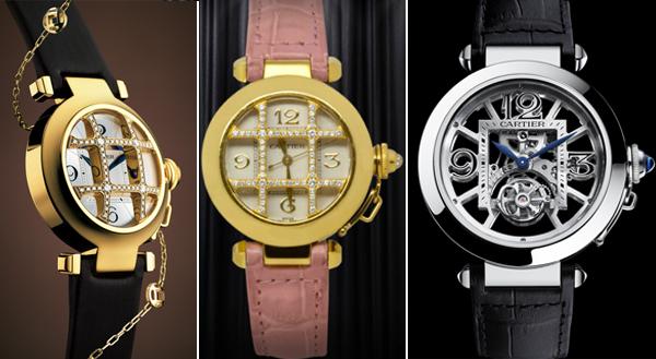 восточная коллекция часов cartier